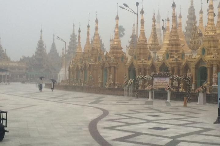 Rainy Season in Yangon – The Beginning of Burma